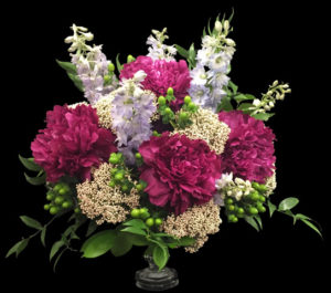 pink chrysanthemum flower arrangement